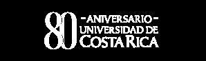 Logo 80 aniversario de la UCR